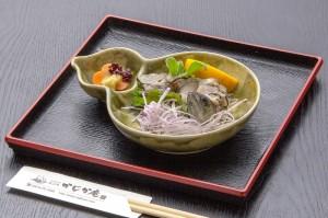 ●エノハ背ごし ¥650円|長湯温泉のお料理・大分県の温泉で食べる定食・和食・郷土料理ならかじか庵へ