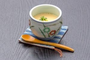 ●茶碗蒸し ¥300円|長湯温泉のお料理・大分県の温泉で食べる定食・和食・郷土料理ならかじか庵へ