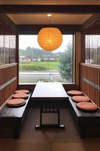 お食事処「せり川」がベンチタイプの座席へリニューアルいたしました。