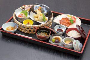 ●ゆの花御膳 ¥1,800円|長湯温泉のお料理・大分県の温泉で食べる定食・和食・郷土料理ならかじか庵へ
