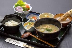 ●麦とろ御膳 ¥1,000円|長湯温泉のお料理・大分県の温泉で食べる定食・和食・郷土料理ならかじか庵へ