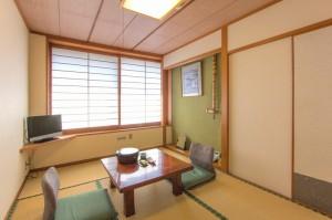 標準2名様用和室「桜の間」|日本一の炭酸泉!長湯温泉ならかじか庵へ