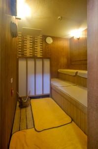 日本一の炭酸泉・長湯温泉「かじか庵」の大浴場・男湯・ロウリュサウナ