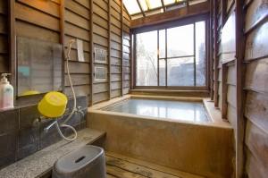 長湯温泉の貸切風呂・うぐいす