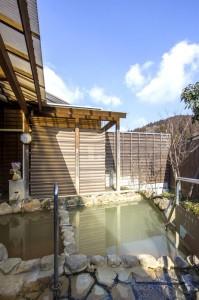 日本一の炭酸泉・長湯温泉「かじか庵」の大浴場・女湯