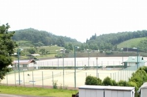 竹田市総合運動公園(ヘルシーパーク)・テニスコート